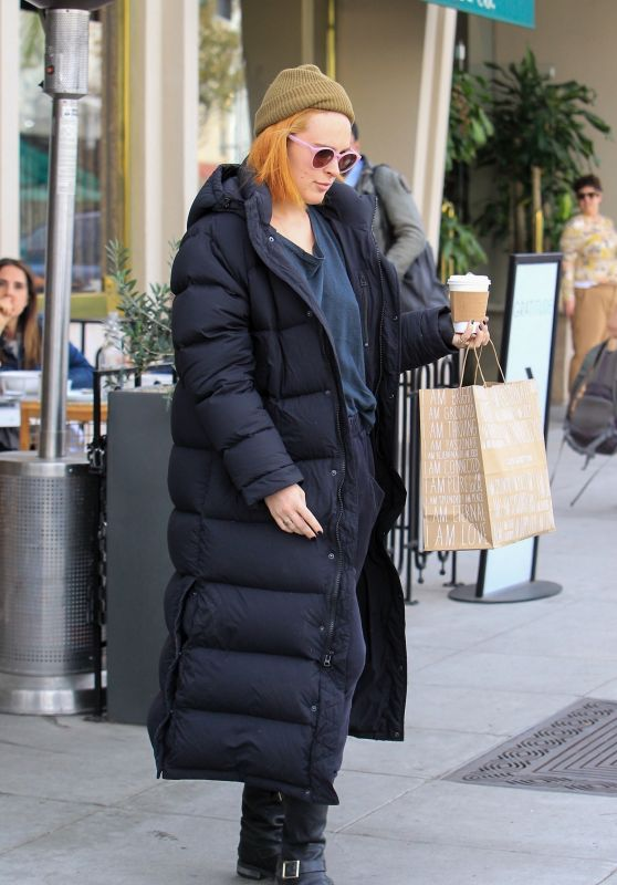 Rumer Willis at Cafe Gratitude in Beverly Hills 01/30/2018