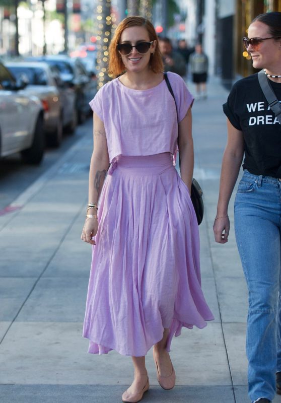 Rumer Willis - Out in Beverly Hills 01/10/2018