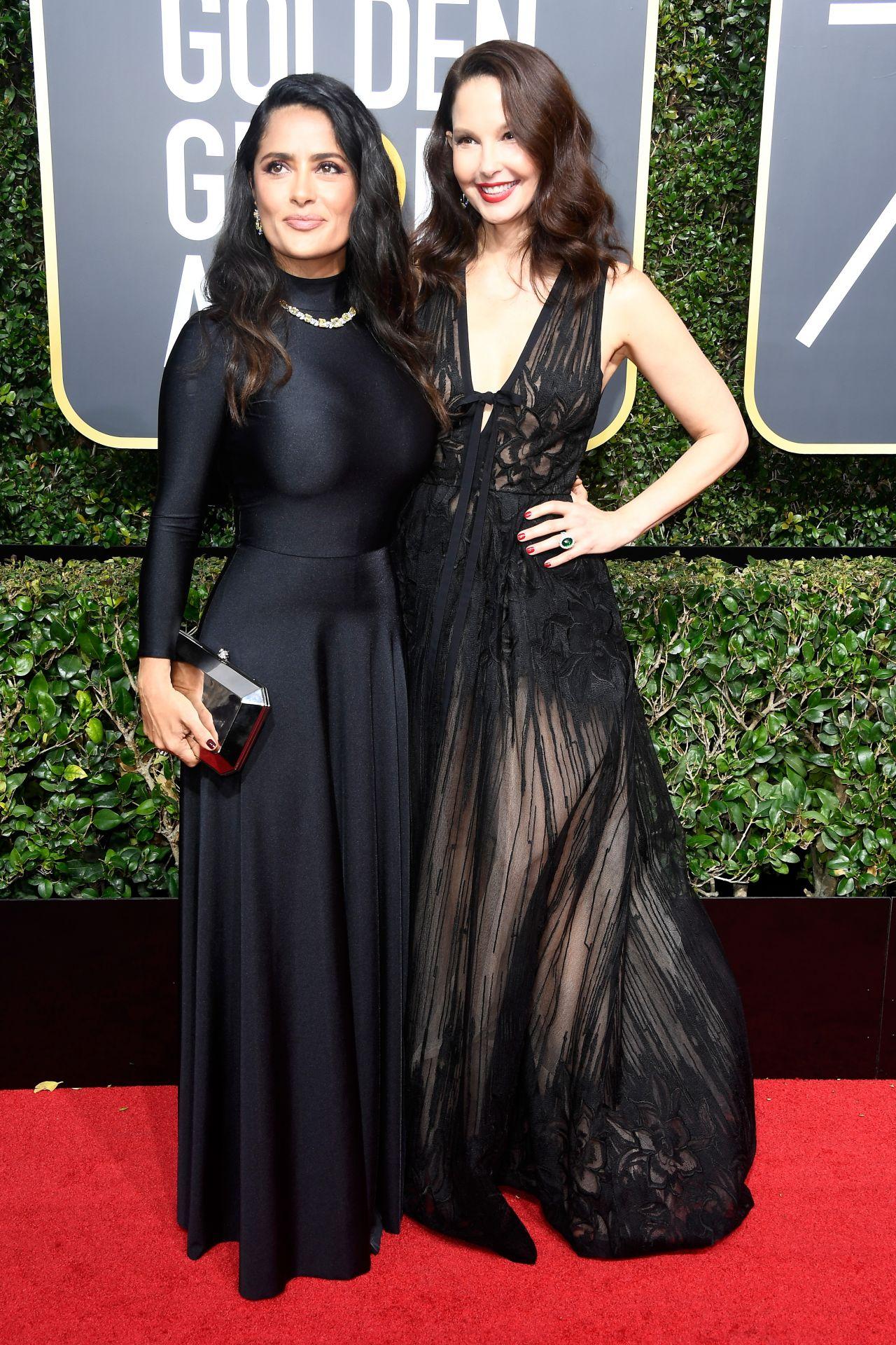 Salma Hayek – Golden Globe Awards 2018