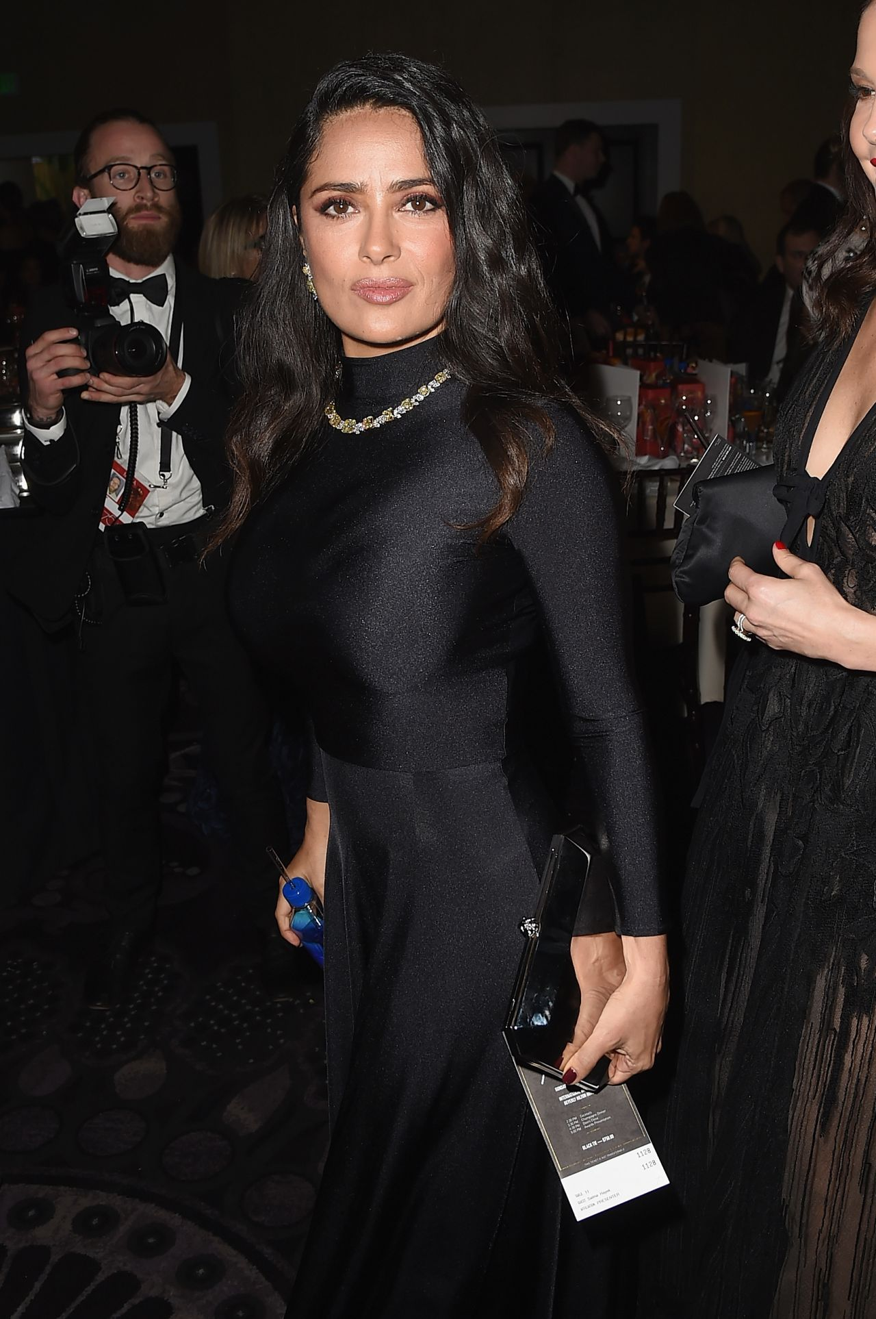 Salma Hayek Golden Globe Awards