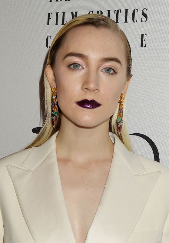 Saoirse Ronan - 2017 New York Film Critics Awards in NYC
