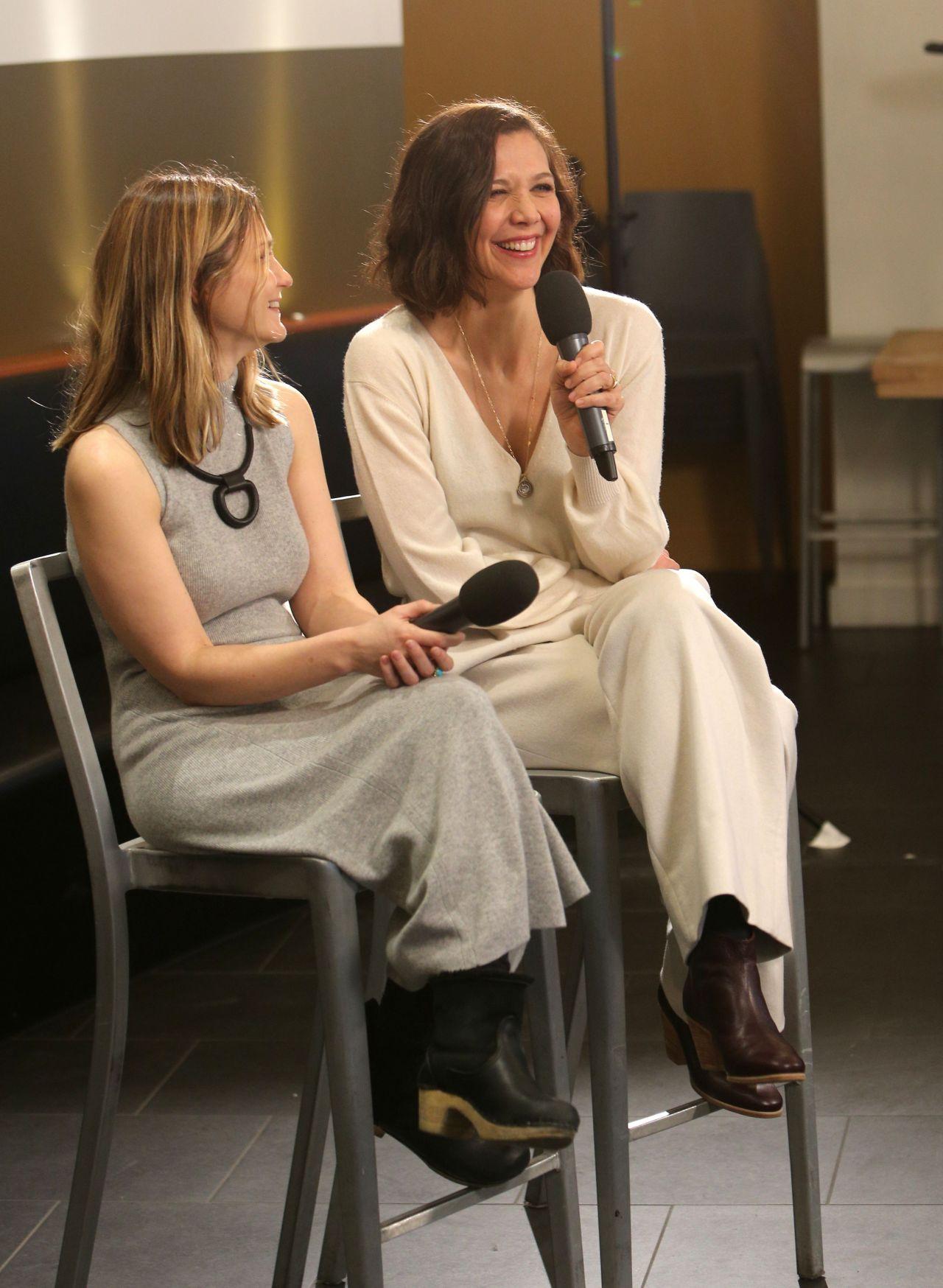 Sara Colangelo And Maggie Gyllenhaal Deadline Studio At