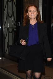 Sarah Ferguson - Out in London 01/30/2018