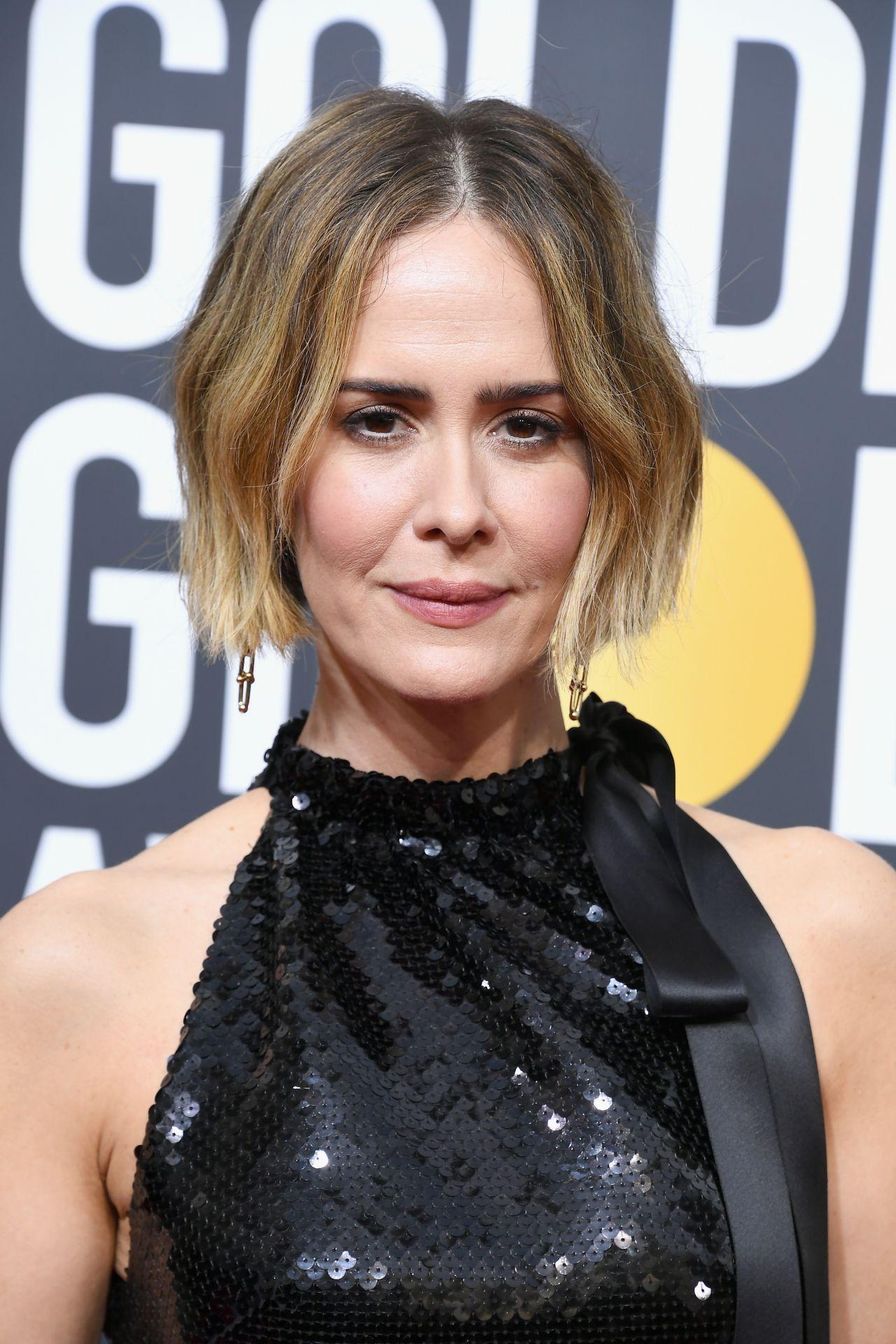 Sarah Paulson Golden Globe Awards 2018