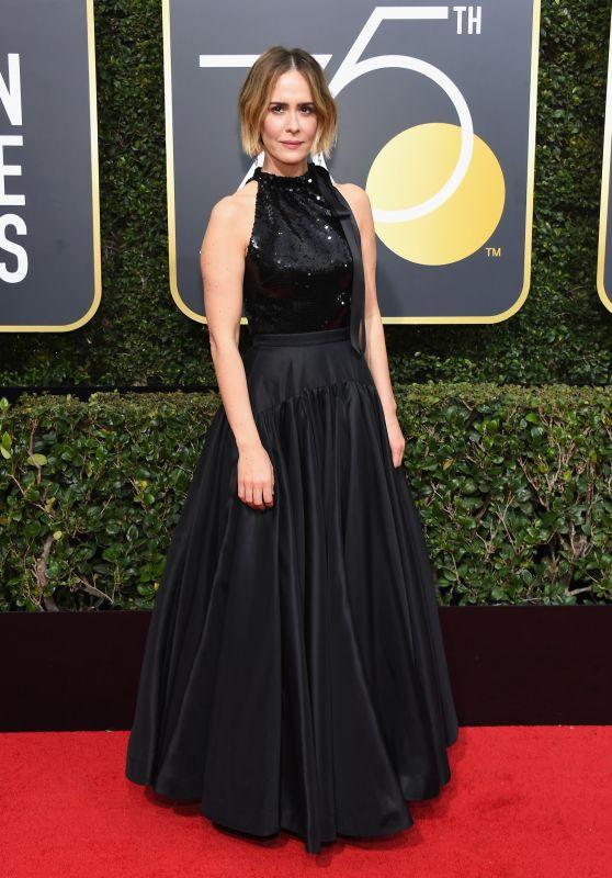 Sarah Paulson – Golden Globe Awards 2018