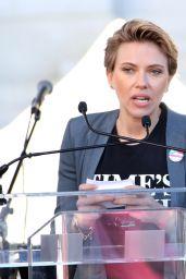 Scarlett Johansson – 2018 Women's March in LA