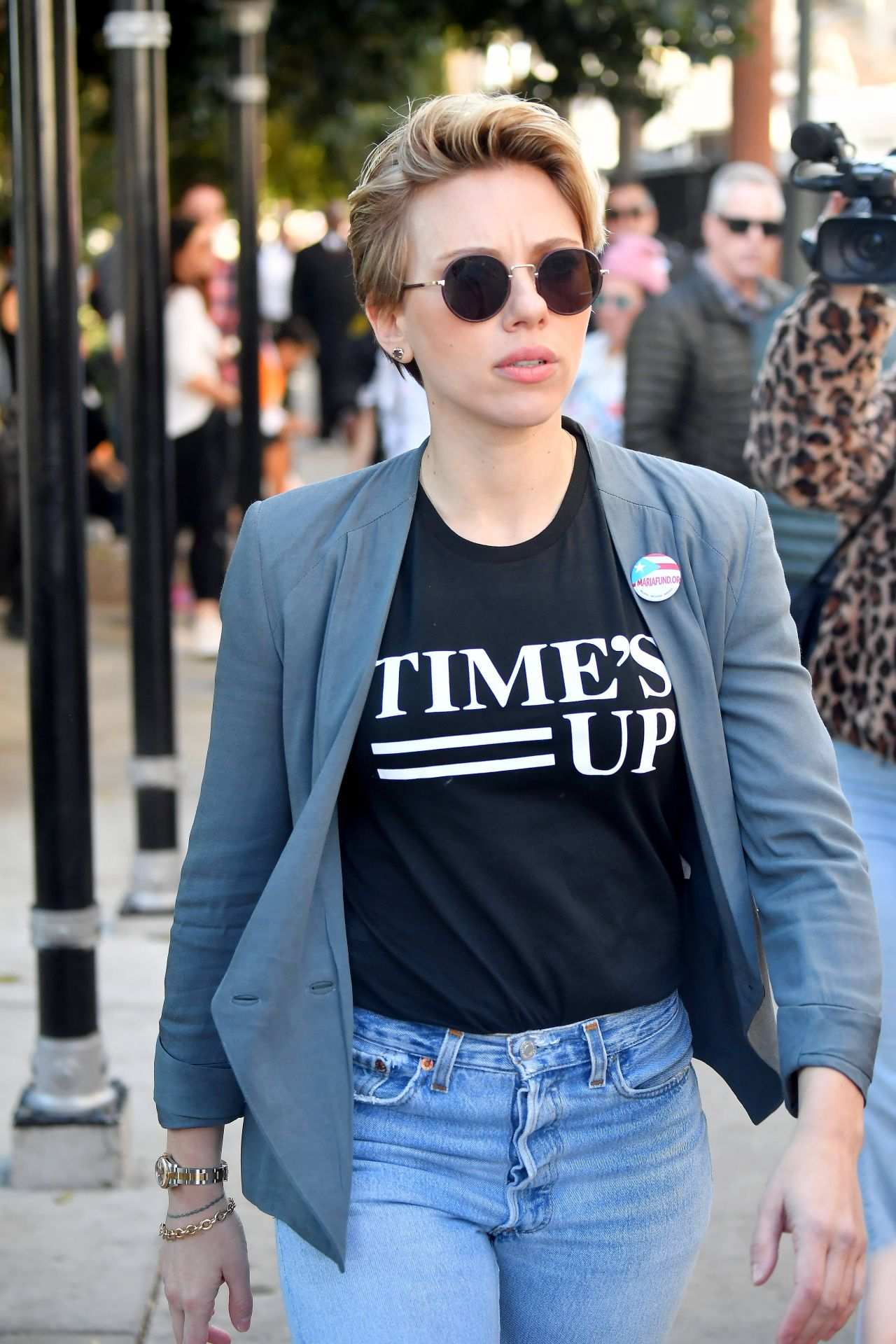 Scarlett Johansson 2018 Women S March In La