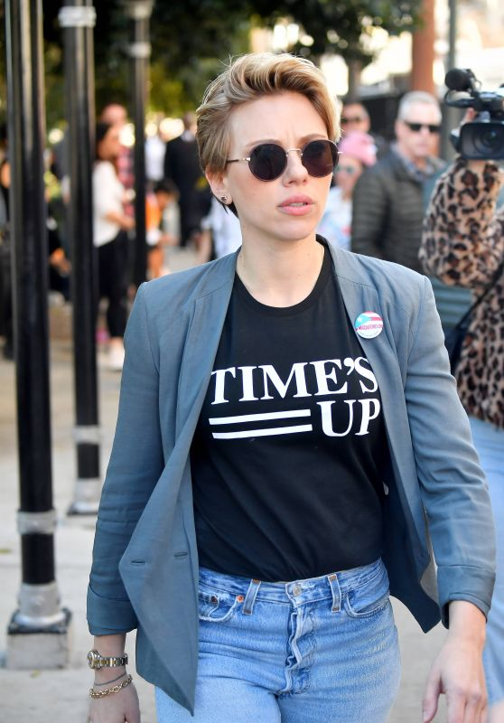 Scarlett Johansson – 2018 Women's March in LA
