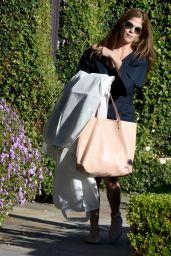 Selma Blair Shopping in Beverly Hills