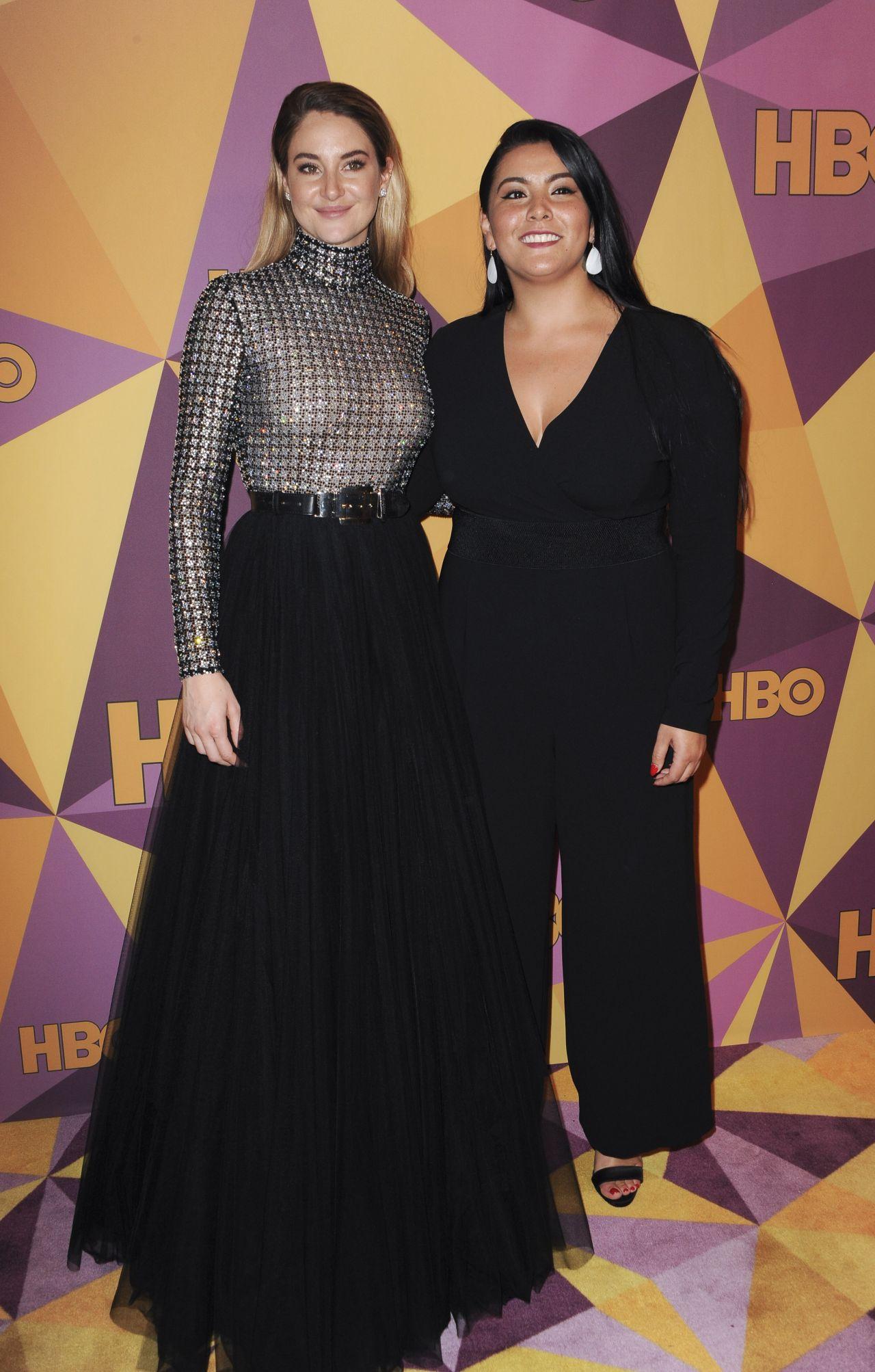 Shailene Woodley Hbo S Official Golden Globe Awards 2018