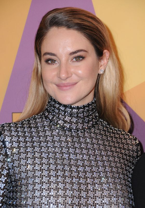 Shailene Woodley – HBO's Official Golden Globe Awards 2018 After Party