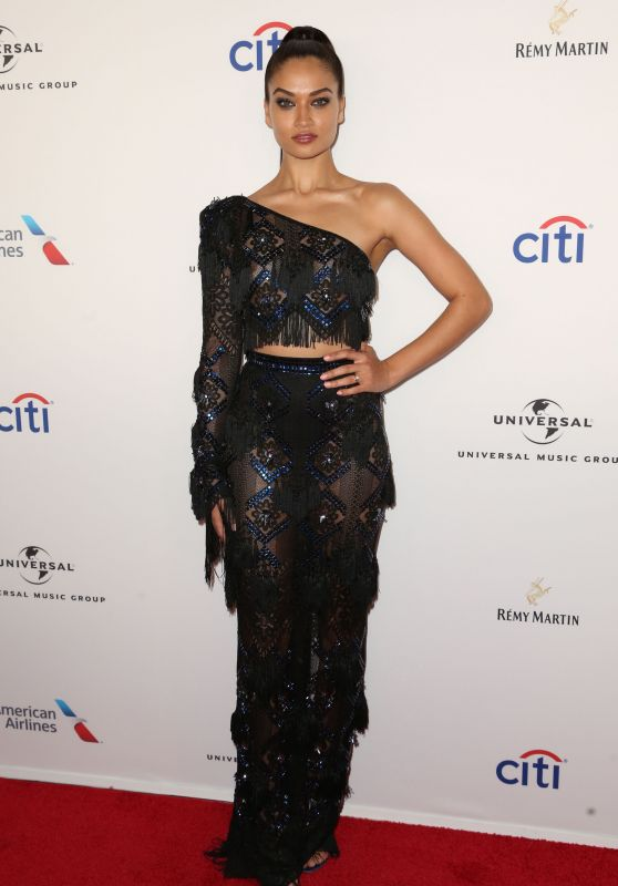 Shanina Shaik – Universal Music Group's Grammy After Party in New York