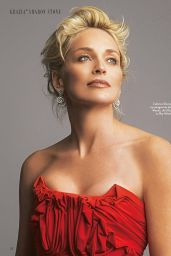 Sharon Stone - Grazia Italia January 2018