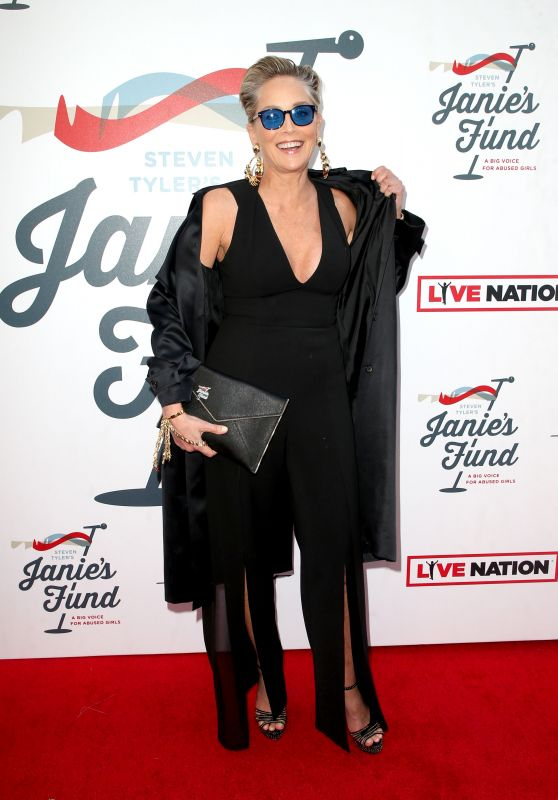 Sharon Stone – Inaugural Janie's Fund Gala & Grammy Viewing Party in LA