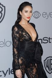 Shay Mitchell – InStyle and Warner Bros Golden Globes 2018 After Party