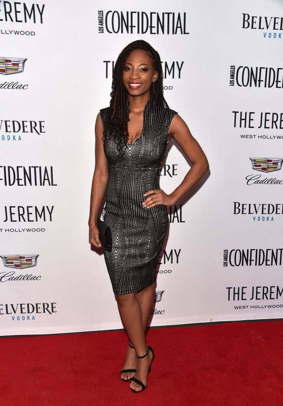 "Shondrella Avery - Los Angeles Confidential Celebrates ""Awards Issue"""