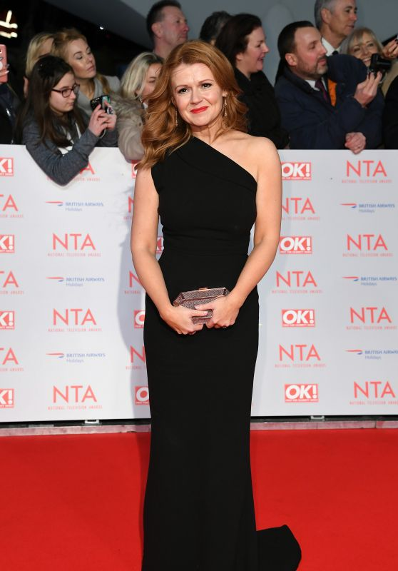 Sian Gibson – 2018 National Television Awards in London