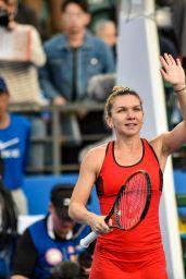 Simona Halep – 2018 Shenzen WTA International Open in Shenzen