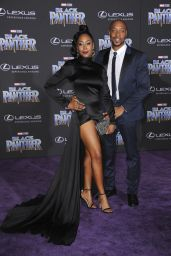 """Simone Missic – """"Black Panther"""" Premiere in Hollywood"""