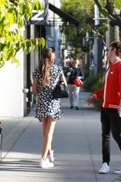 Sistine Stallone and Gregg Sulkin - Leave All Saints in Beverly Hills