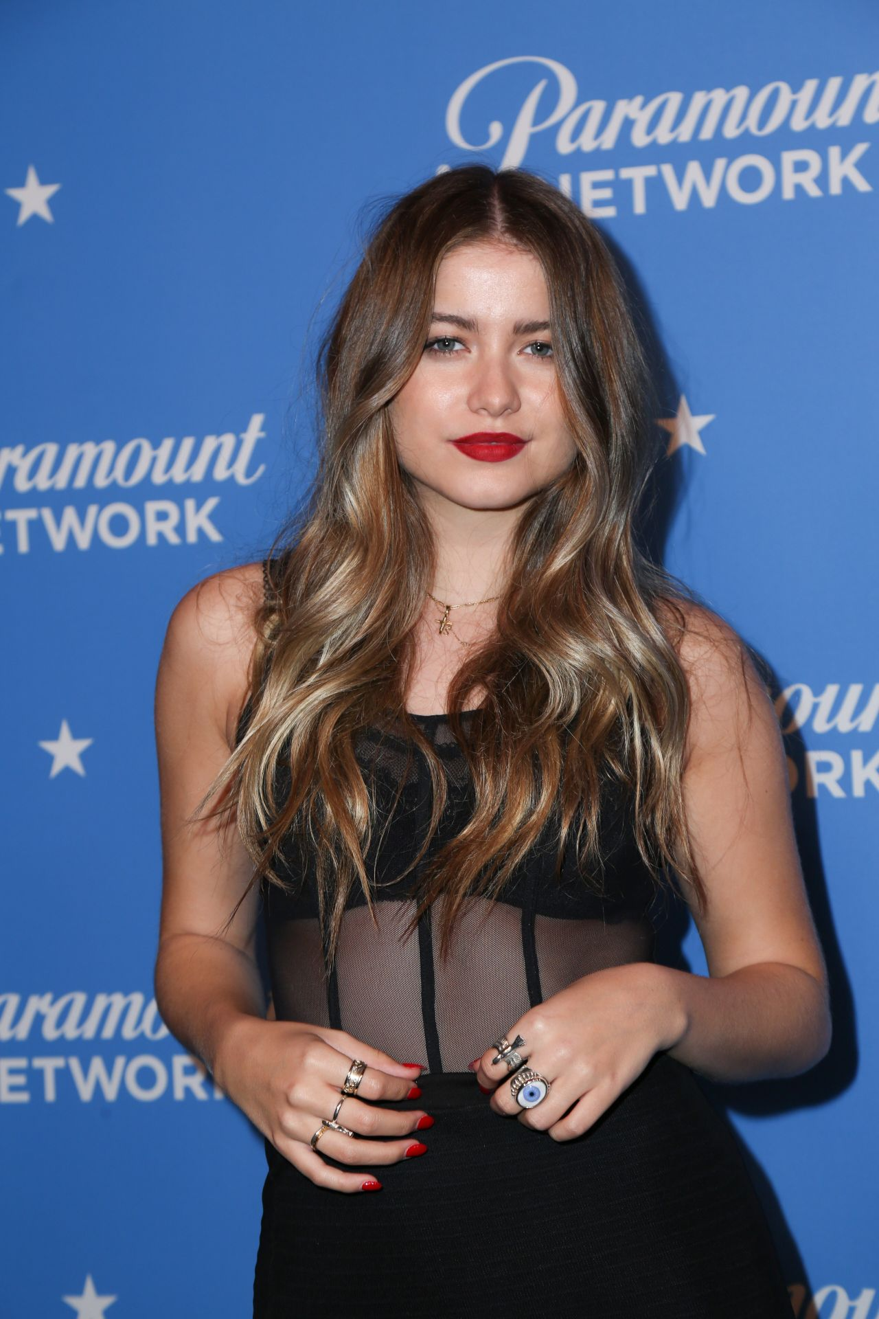 Sofia Reyes Paramount Network Launch Party In La