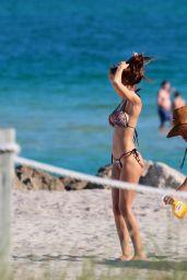 Sonia Sarpe in Bikini - Photoshoot on the Beach in Miami