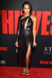 "Sonya Balmores – ""Den of Thieves"" Premiere in LA"
