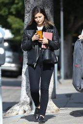 Sophia Bush Casual Style - Visited Fashion Studio in West Hollywood