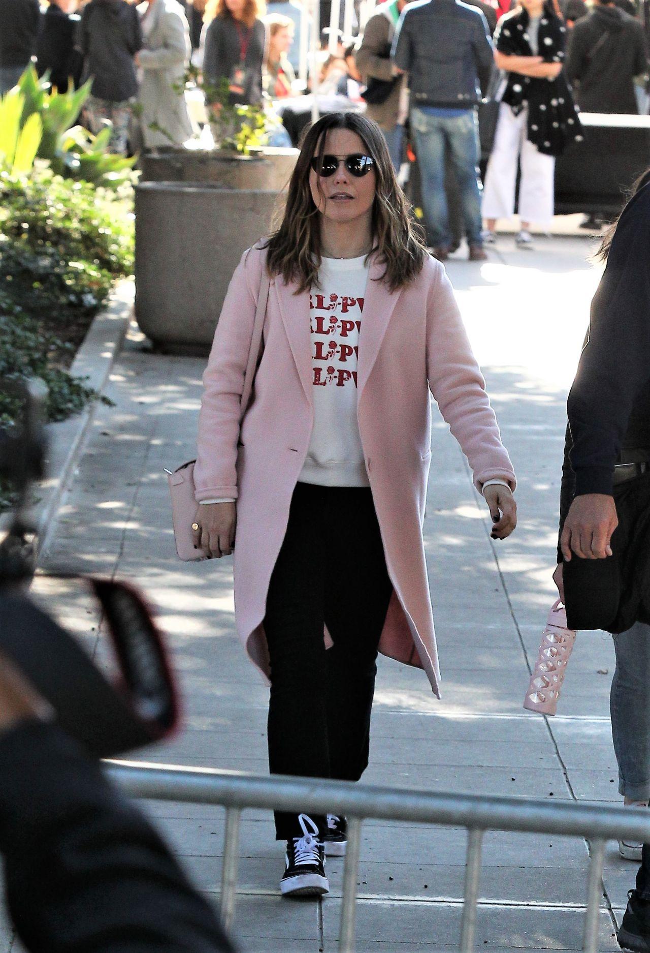 Sophia Bush - Leaving 2018 Women's March in LA
