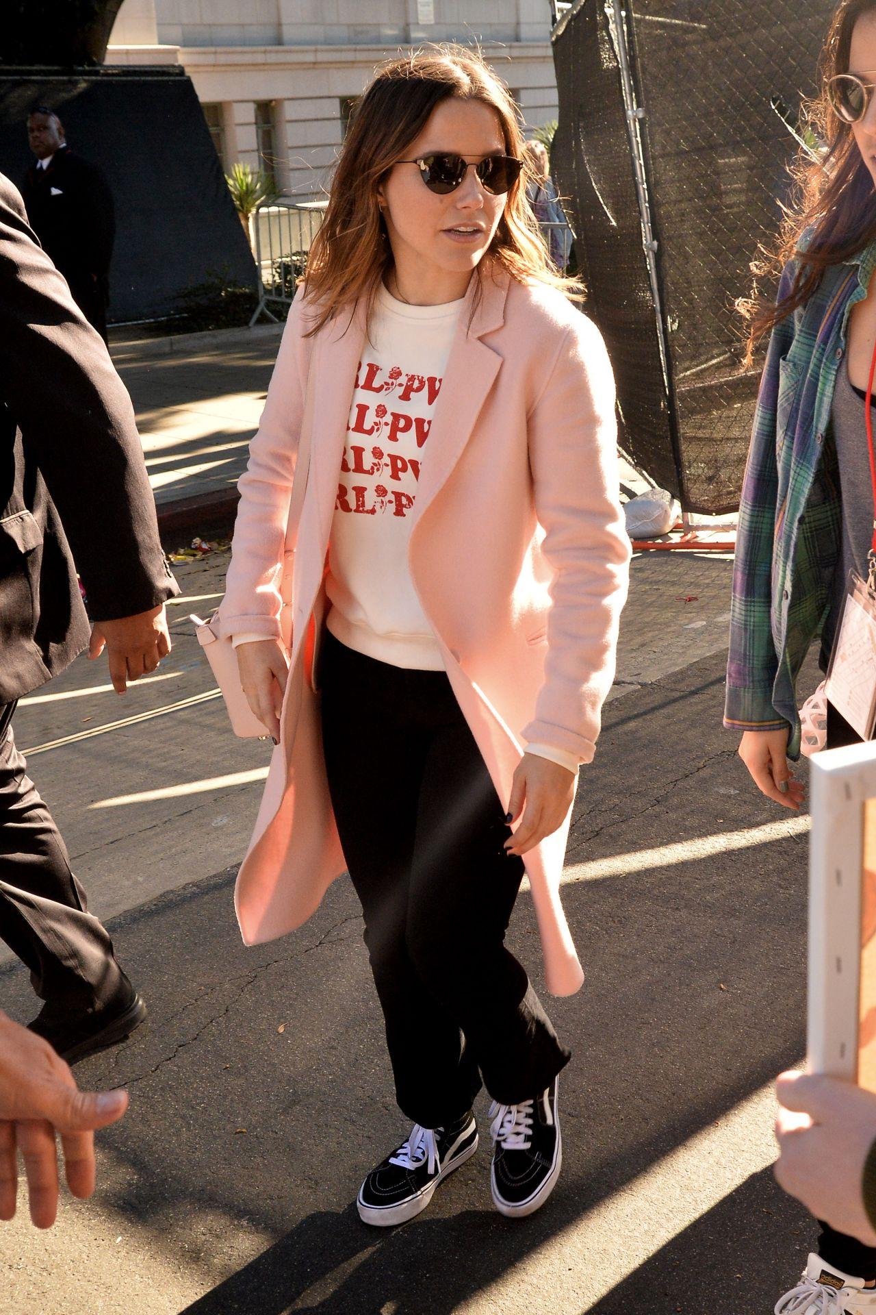 Sophia Bush Leaving 2018 Women S March In La