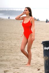 Sophie Mudd in Swimsuit - Baywatch Style Photoshoot in Venice