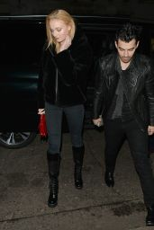 Sophie Turner - Dines Out With Joe Jonas at 34 in London