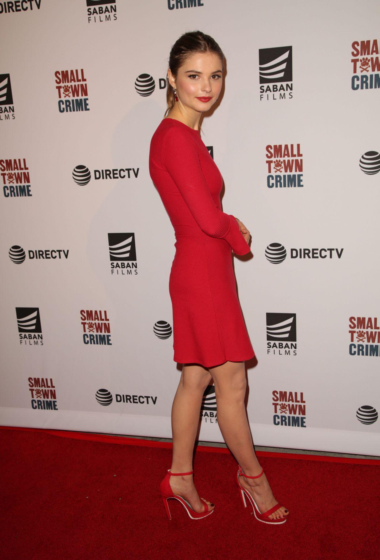 "Stefanie Scott - ""Small Town Crime"" Special Screening in LA"