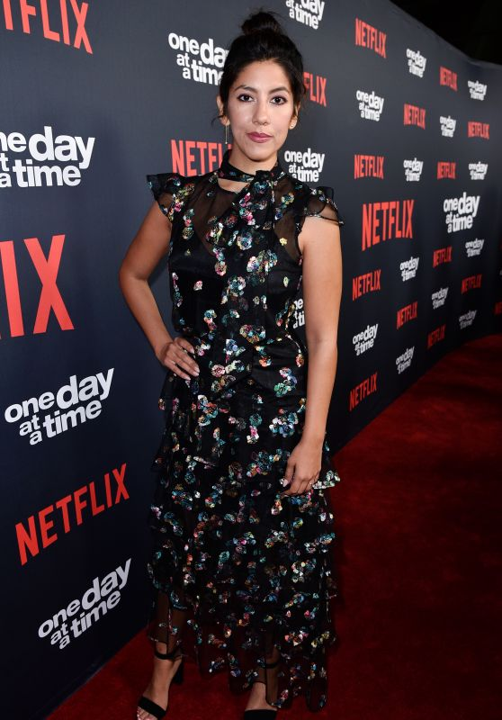 """Stephanie Beatriz – """"One Day at a Time"""" TV Show Season 2 Premiere in Los Angeles"""
