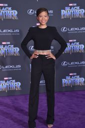 "Storm Reid – ""Black Panther"" Premiere in Hollywood"
