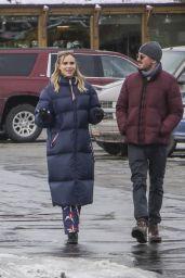 Suki Waterhouse and Darren Aronofsky - Strolling the streets at Sundance 2018 in Park City