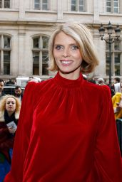 Sylvie Tellier - Jean-Paul Gaultier Fashion Show in Paris 01/24/2018