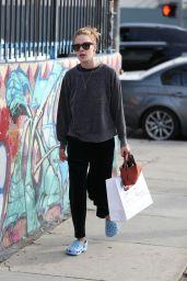 Tallulah Willis Street Style - Shopping at Sportie LA on Melrose Avenue