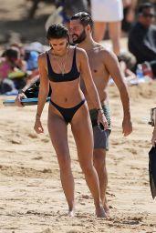 Taylor Marie Hill in Bikini on the Beach in Hawaii