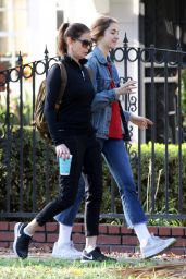 Teri Hatcher and daughter Emerson Go For a Hike in LA