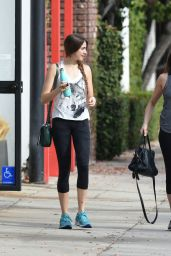 Teri Hatcher and Daughter Emerson Rose Tenney - Workout on New Years Day in LA