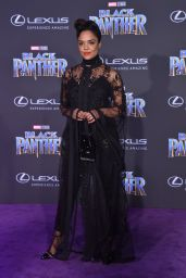 "Tessa Thompson – ""Black Panther"" Premiere in Hollywood"