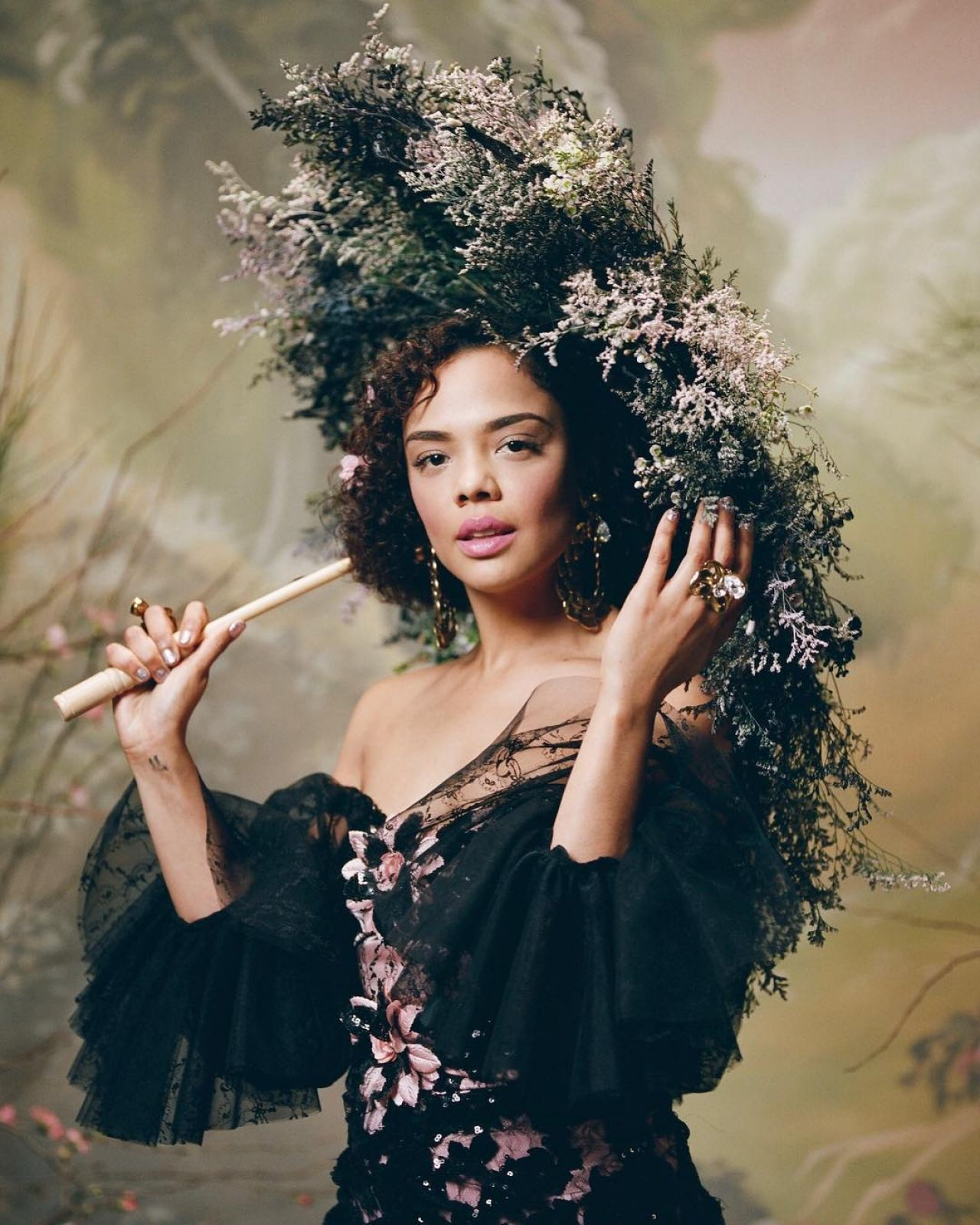 Tessa Thompson Rodarte Fall 2018 Ready To Wear
