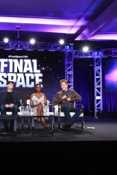 """Tika Sumpter - TBS """"Final Space"""" TV Show Panel at the TCA Winter Press Tour in Los Angeles"""