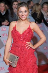 Tilly Keeper – 2018 National Television Awards in London