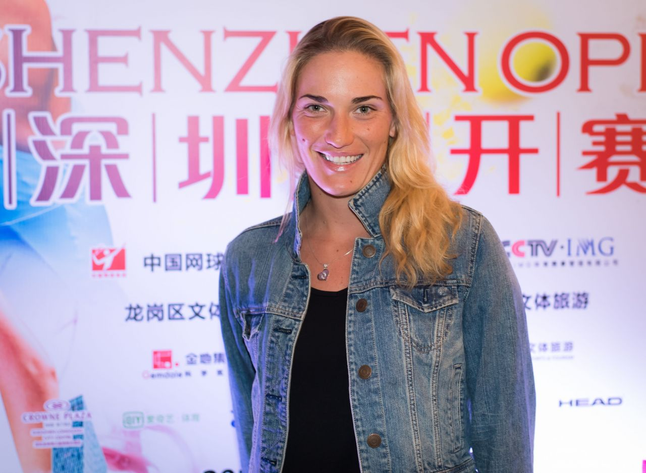 Timea Babos – Players Party of the 2018 Shenzen Open WTA International Open
