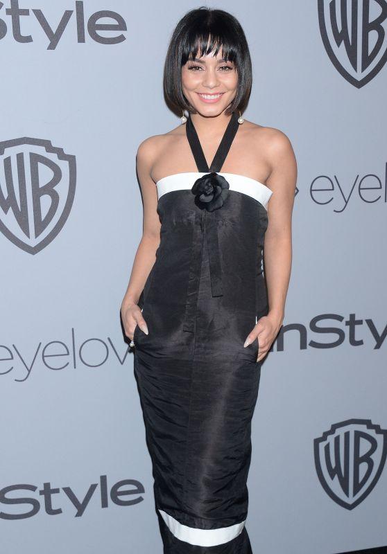 Vanessa Hudgens – InStyle and Warner Bros Golden Globes 2018 After Party