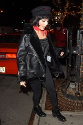 Vanessa Hudgens - Out in New York City 01/25/2018