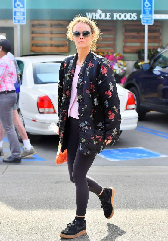 Vanessa Paradis Leaving Whole Foods in Studio City