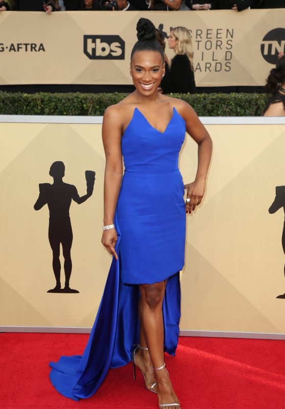 Vicky Jeudy – 2018 SAG Awards in LA